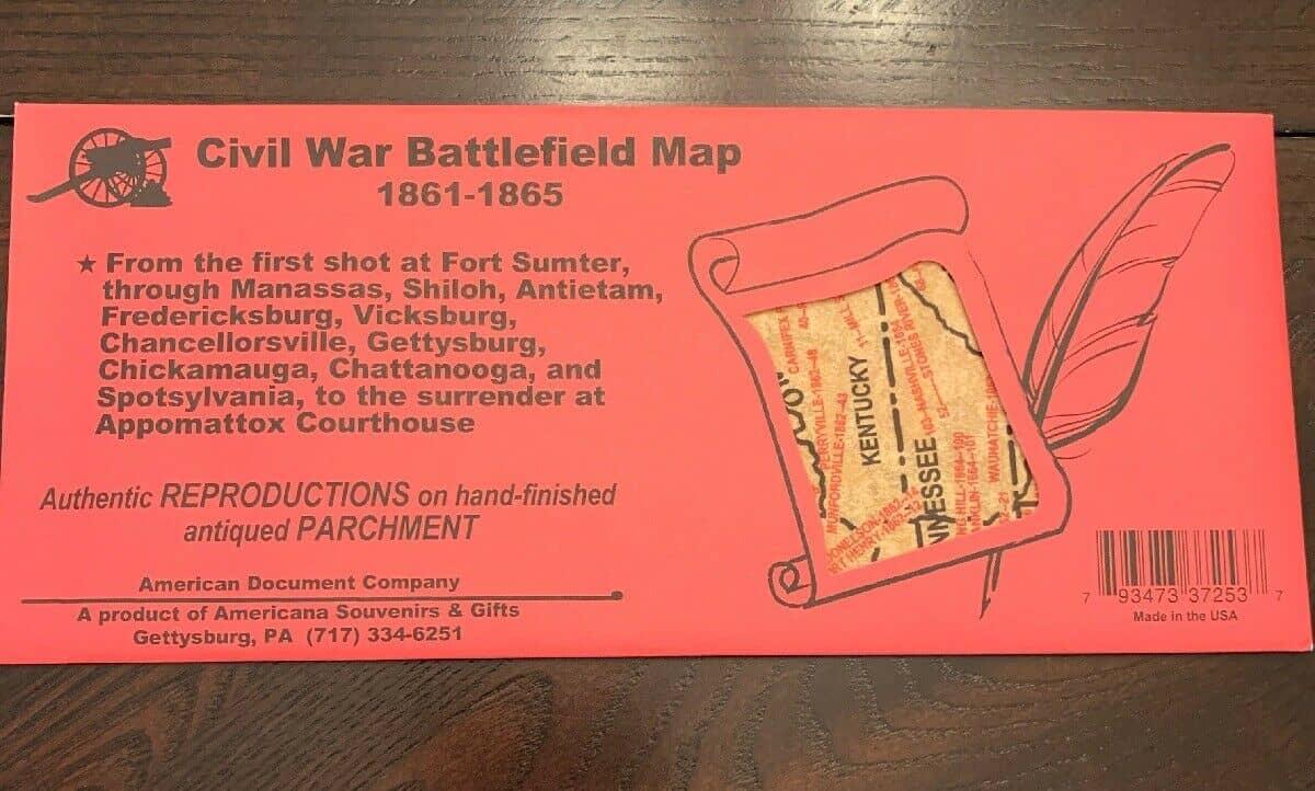 Chronological Map of Civil War Battles
