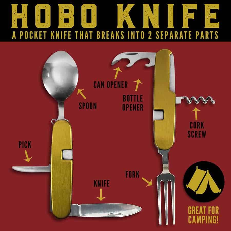HOBO KNIFE - pocket camping knife
