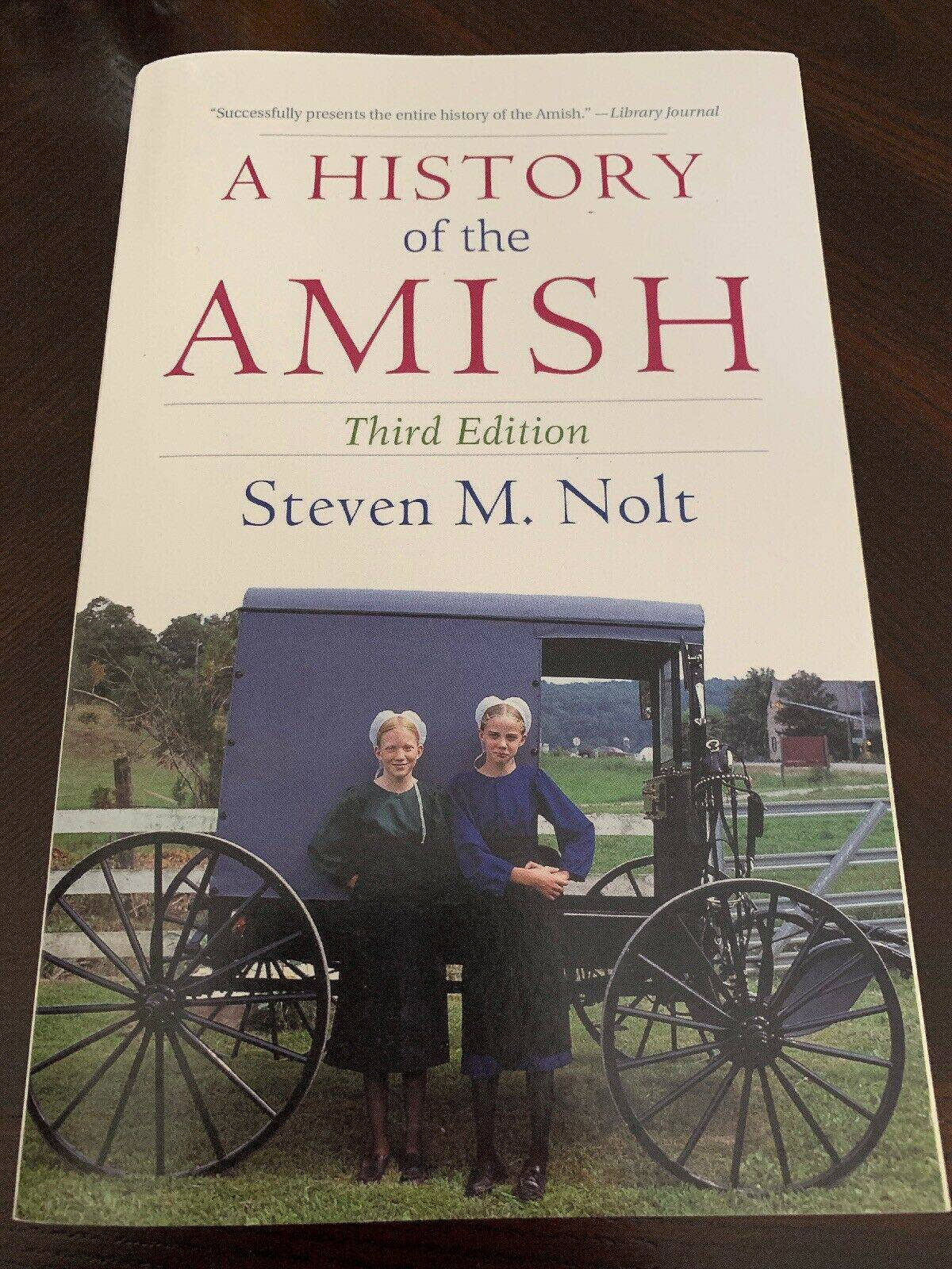 A History of the Amish by Steven M. Nolt (2015, Paperback)