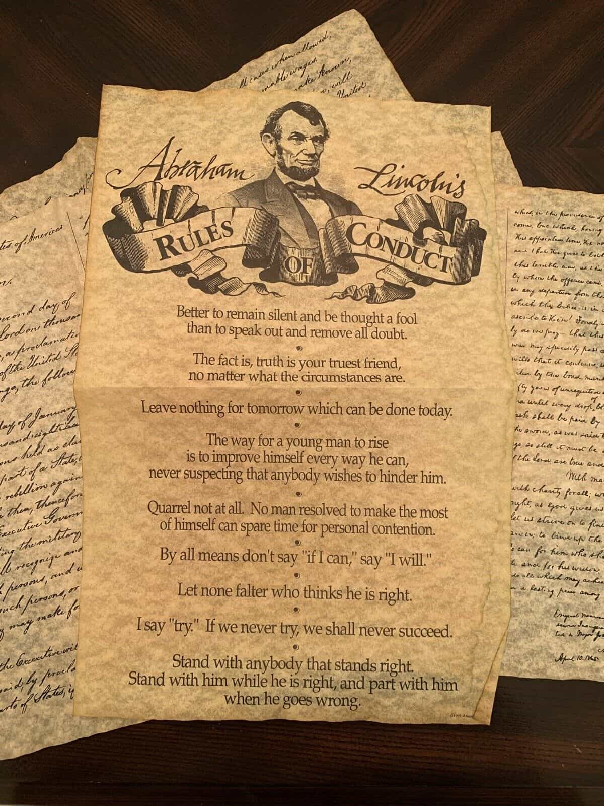 Abraham Lincoln Collection of Documents