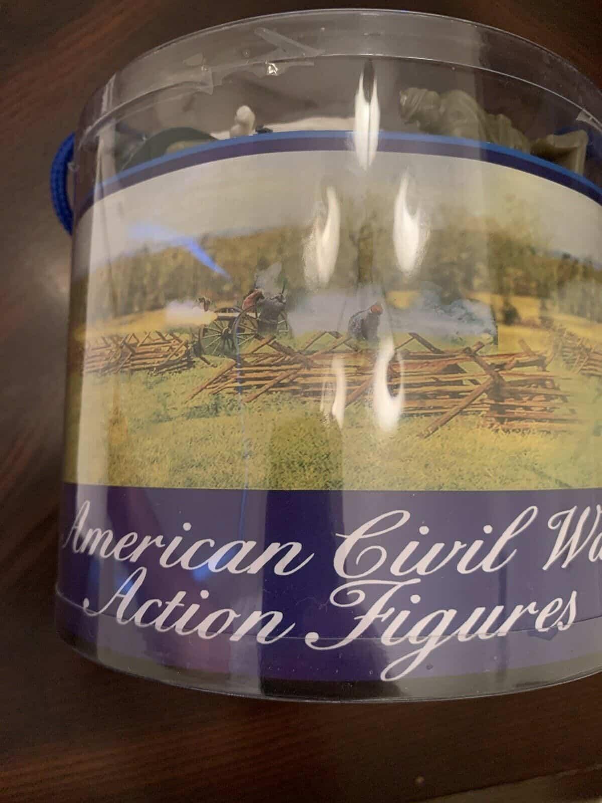 American Civil War Action Figures - Bucket
