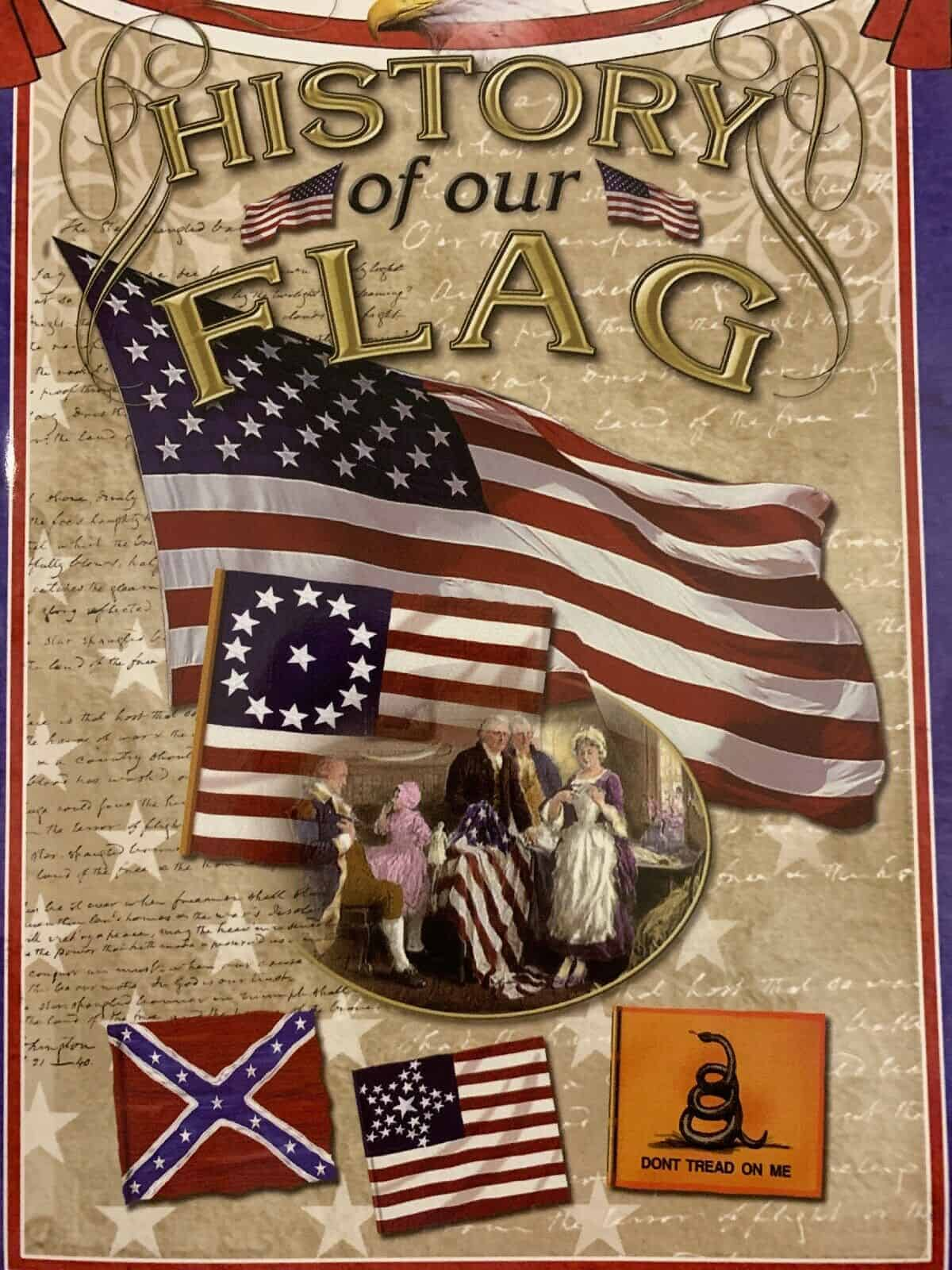 History of Our Flag - Book
