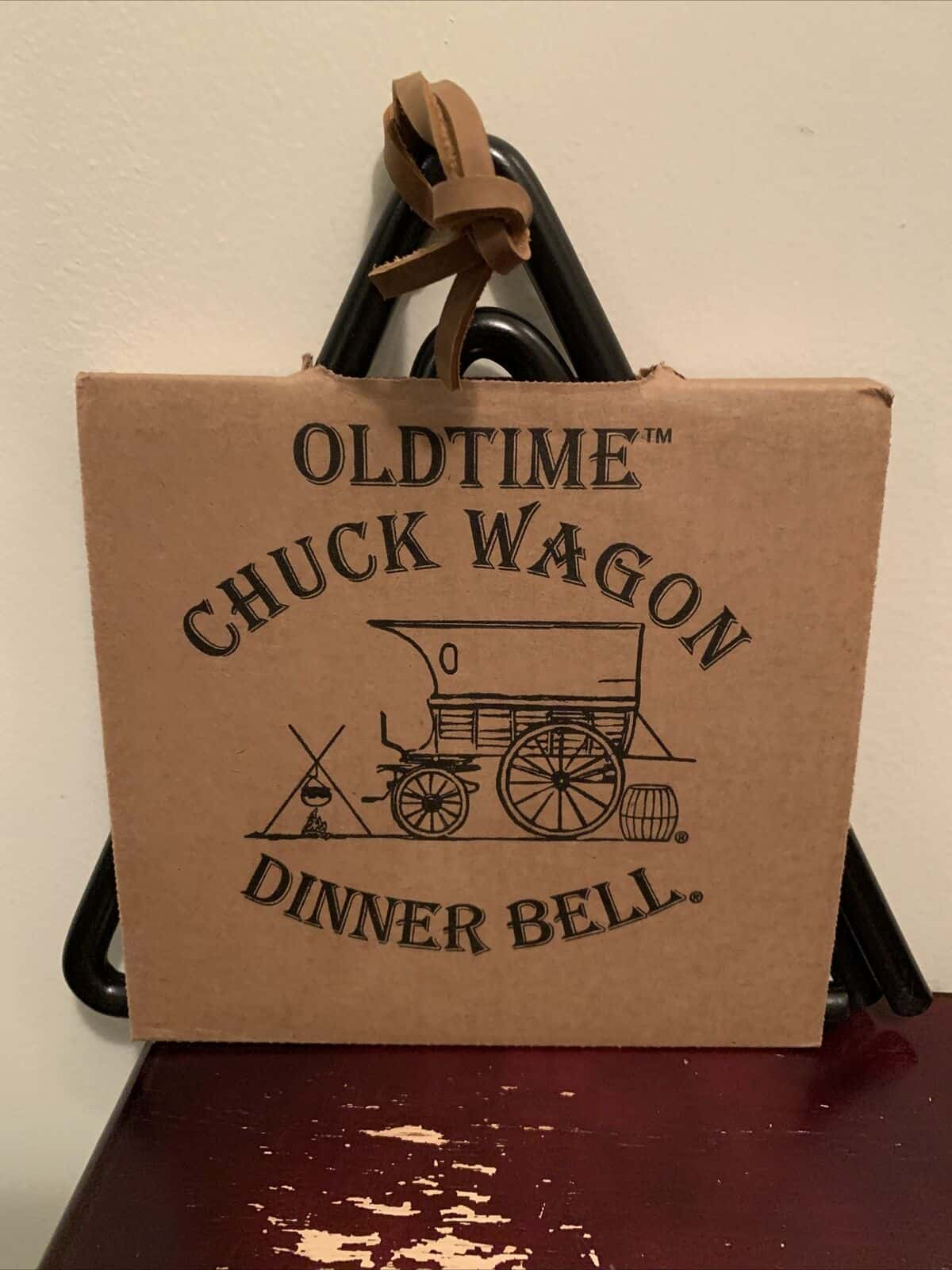 Old Time Chuck Wagon Dinner Bell - 10 inches