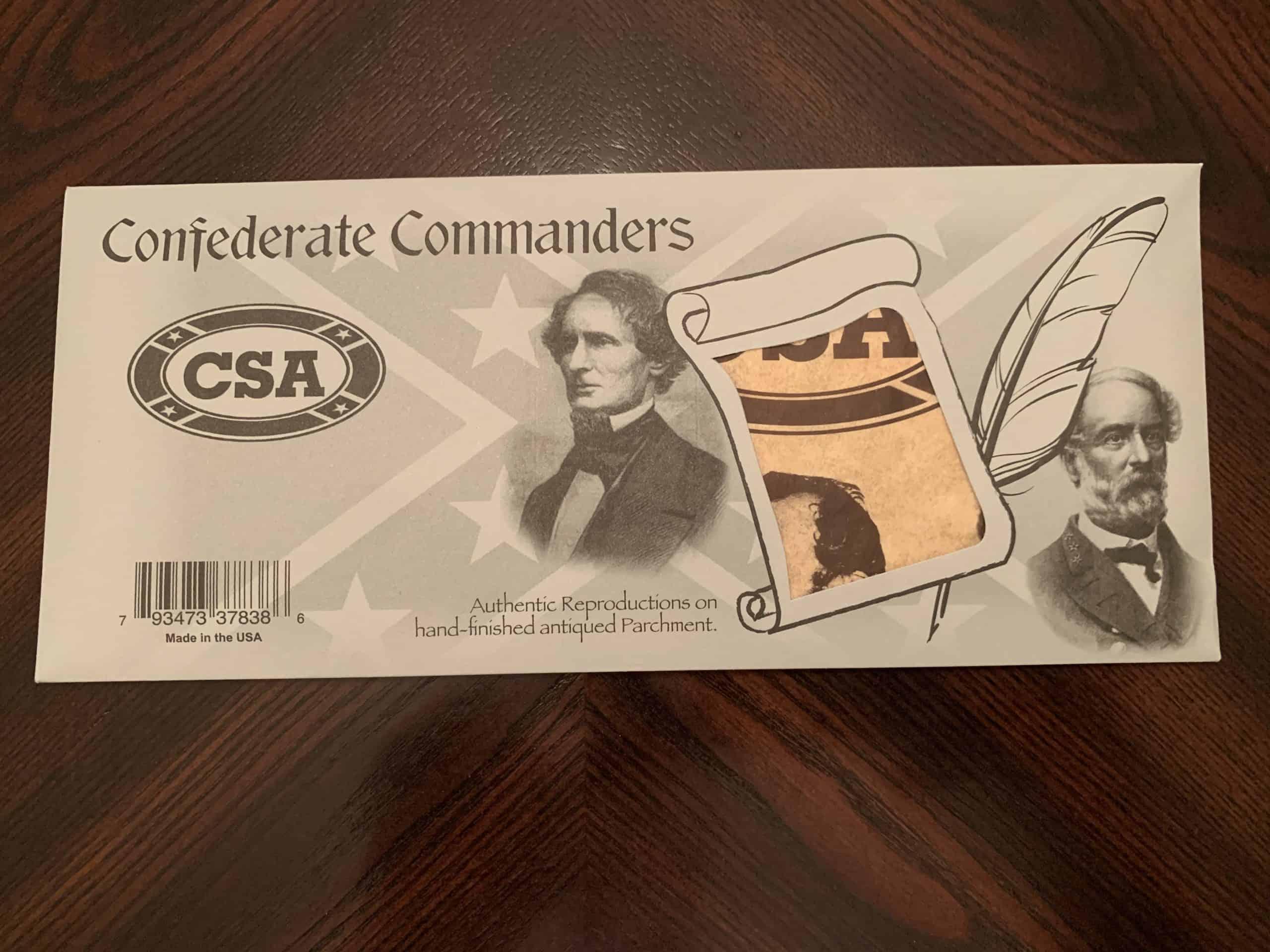 Civil War Commanders - Parchments