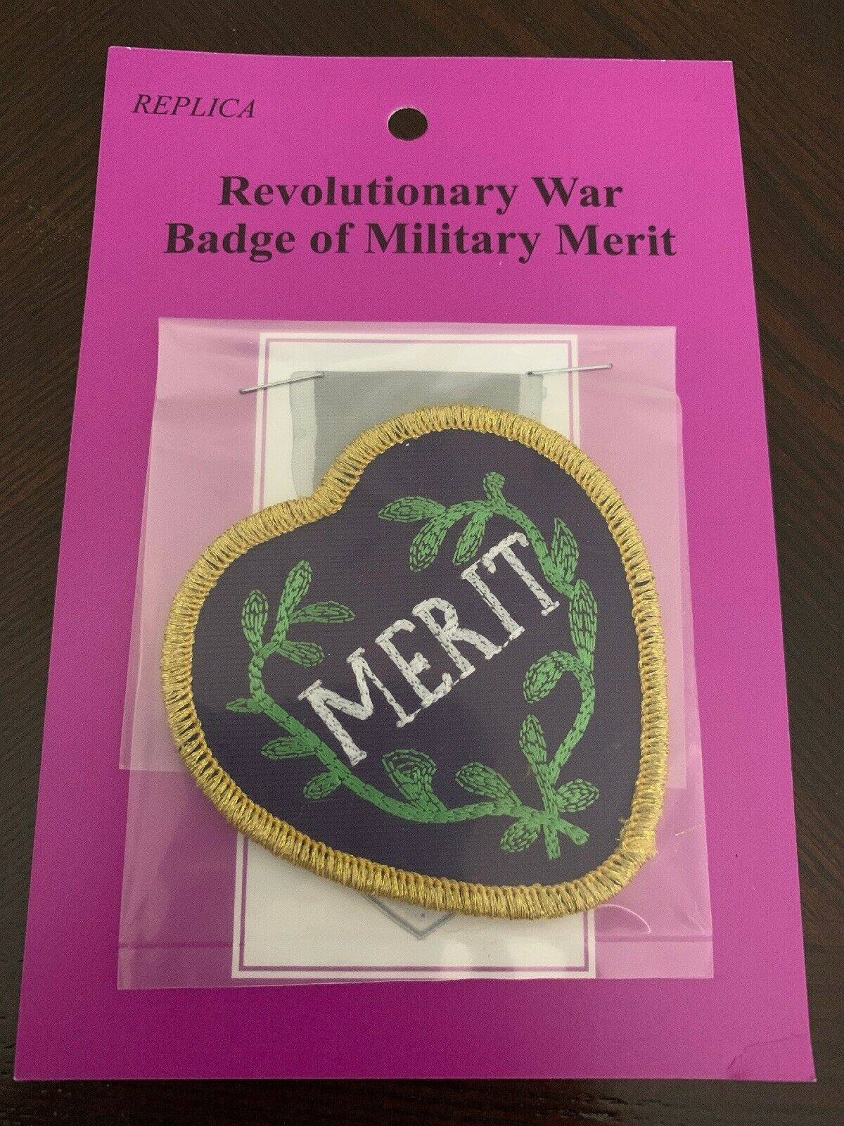 Revolutionary War Badge of Military Merit - Insignia Replica
