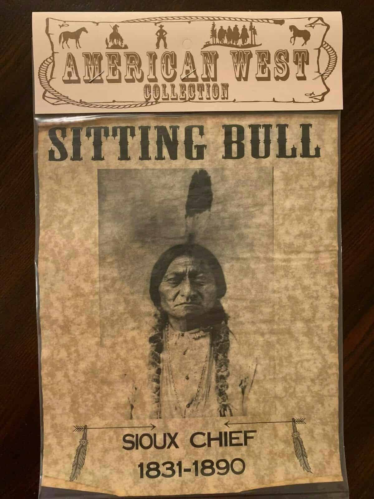 """American West Collection 8"""" x 10"""" Parchment Posters"""