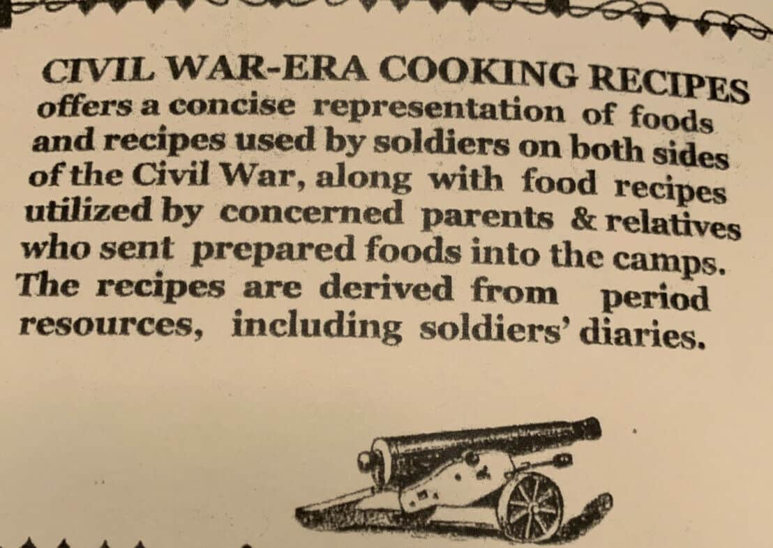 Civil War Era Cooking Recipes