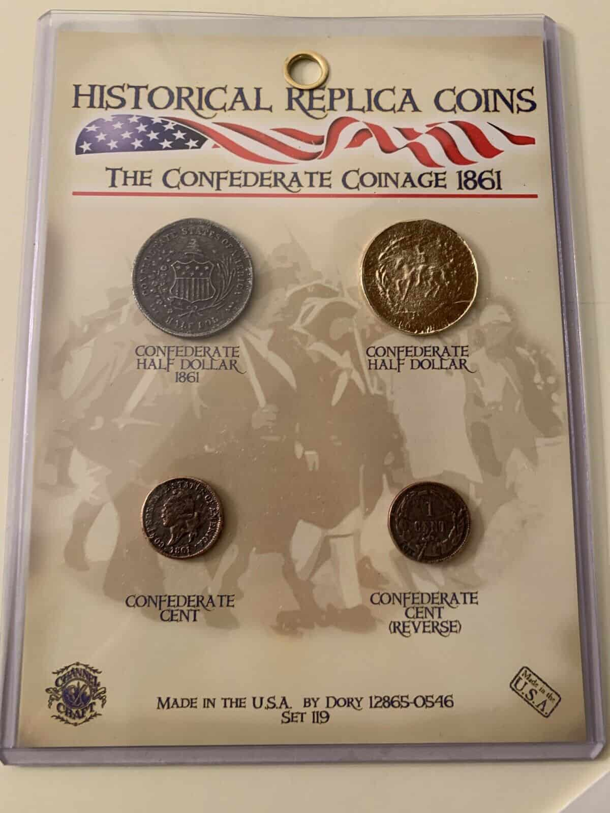 Confederate Coinage - 1861