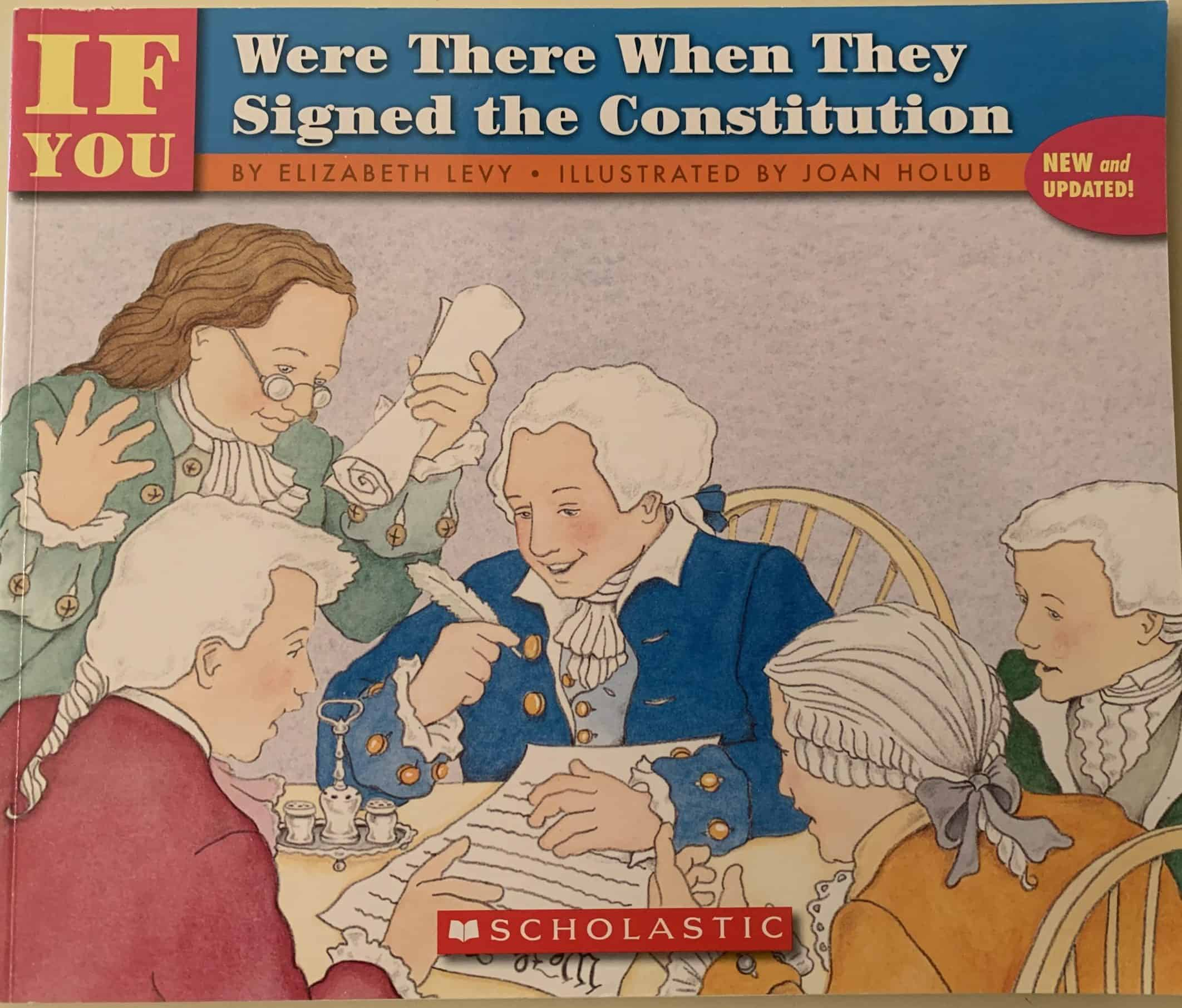 If You: Were There When They Signed the Constitution by Elizabeth Levy...