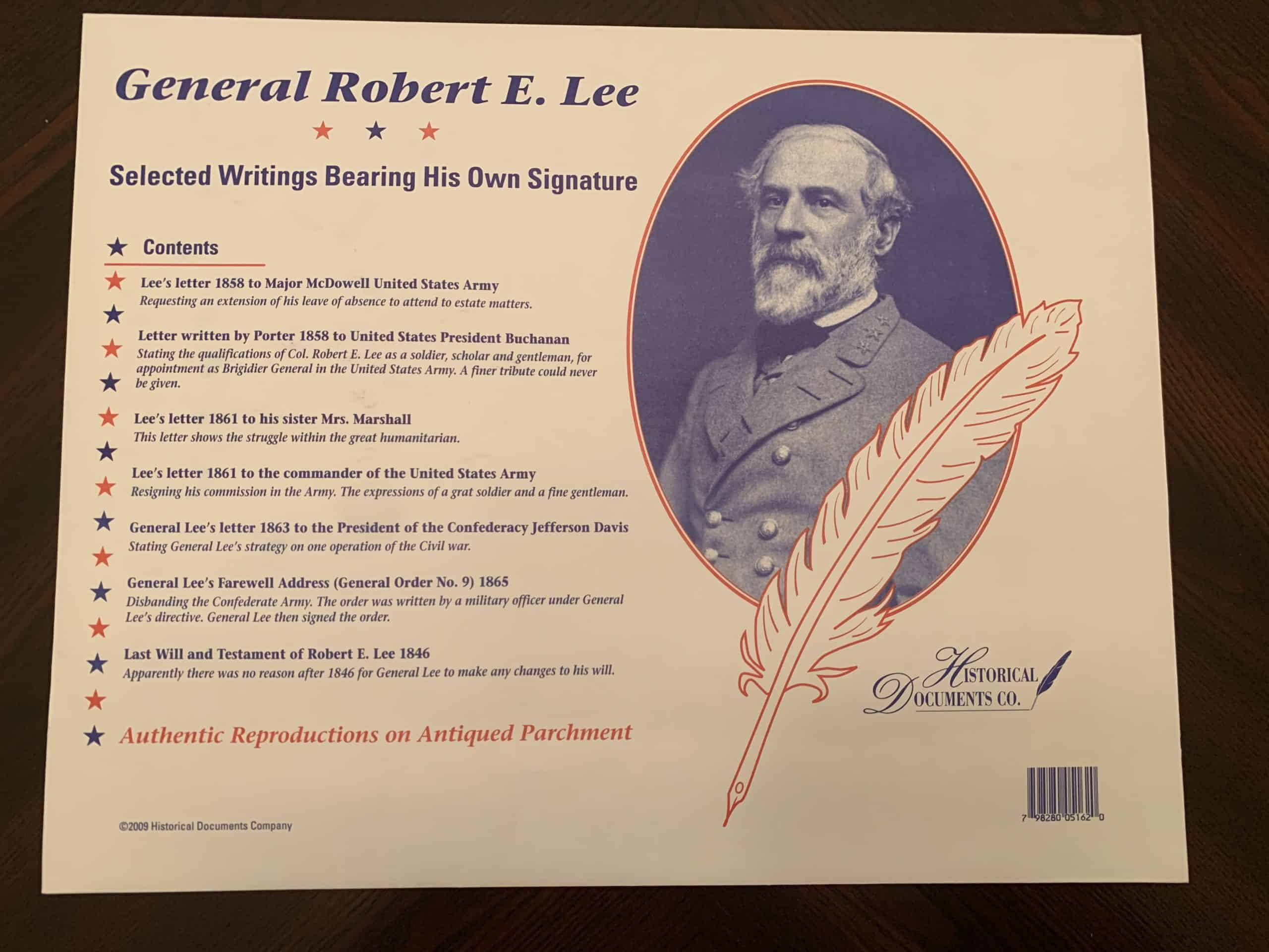 Select Writings of Robert E. Lee