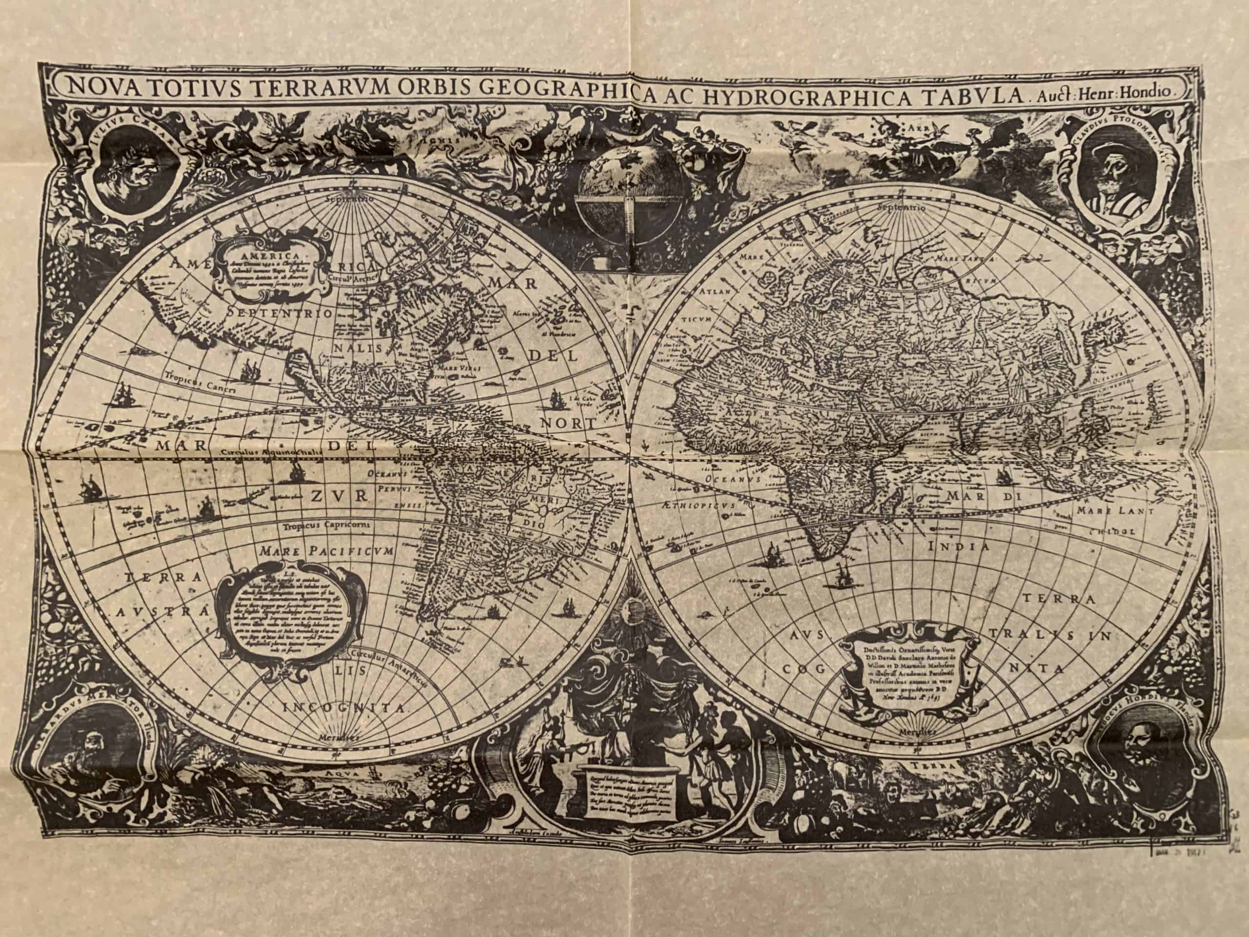 Map of The World - 1641
